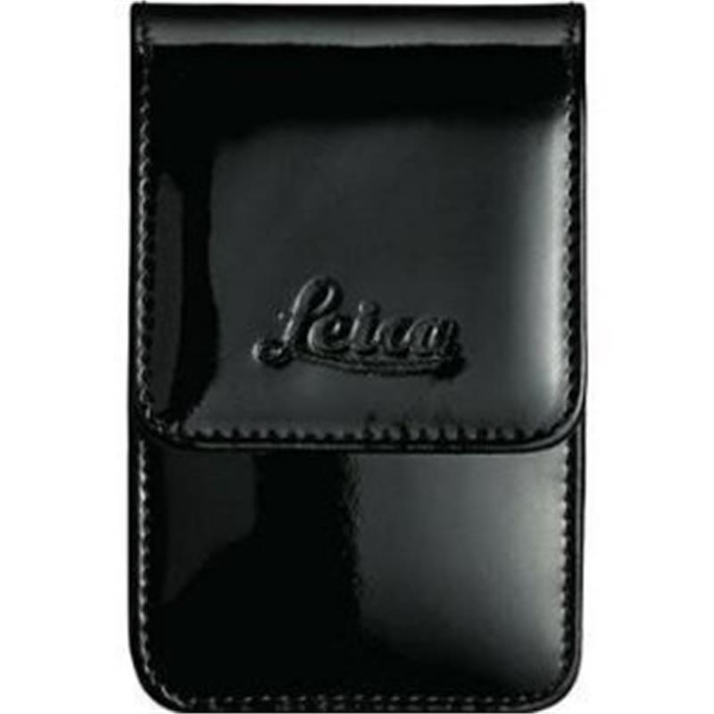 Leica Leather Case Black Glossy - Small (18688)  Image 1